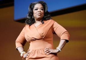 Oprah powerful stance